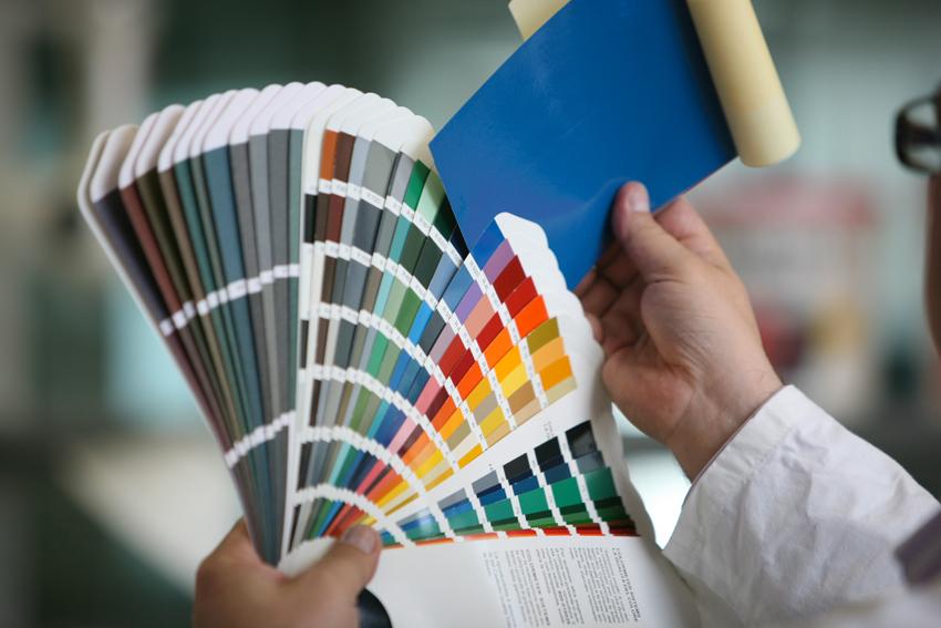 Palette dei colori Boero