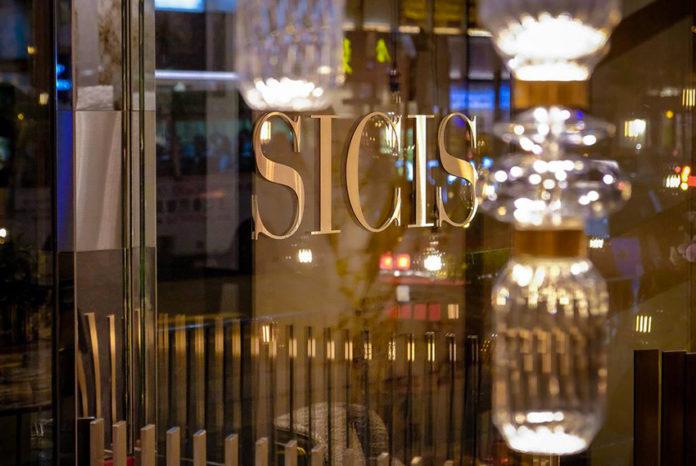 Lo showroom Sicis a Hong Kong