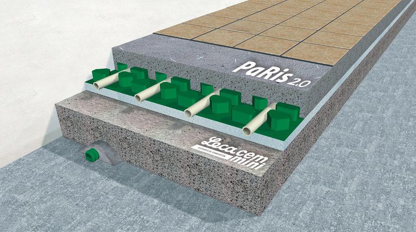 Il sistema di riscaldamento radiante a pavimento PaRis 2.0