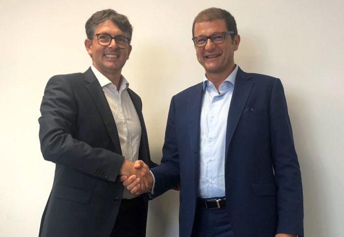 Enrico Frizzera, Ceo di Manni Group e Andrea Bucci, managing director di Knauf Italia
