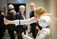 Salfie con robot