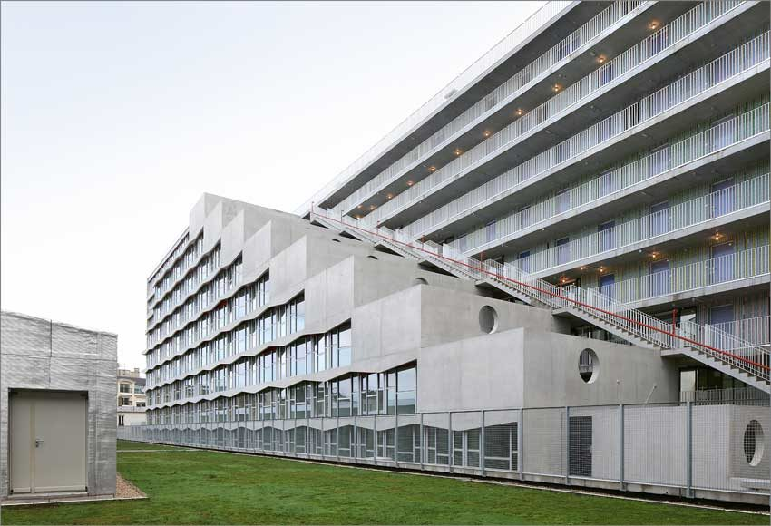 Francia, Éric Lapierre Experience, The Chris Marker Student Residence. Foto: Filip Dujardin