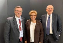 Da sinistra, Maurizio Motta, Laura Michelini, Angelo Artale