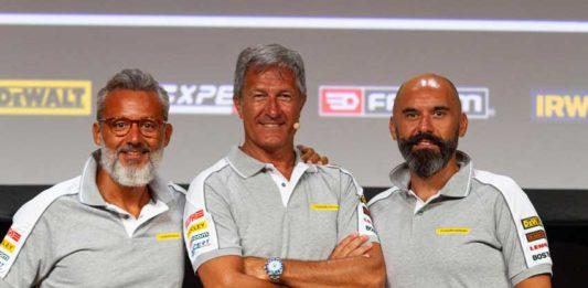 Da sinistra, Gennaro Zicaro, Alberto Casati e Vito Galantino
