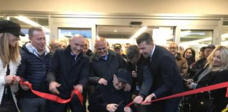L'inaugurazione del punto vendita Comes a Cesano di Senigallia