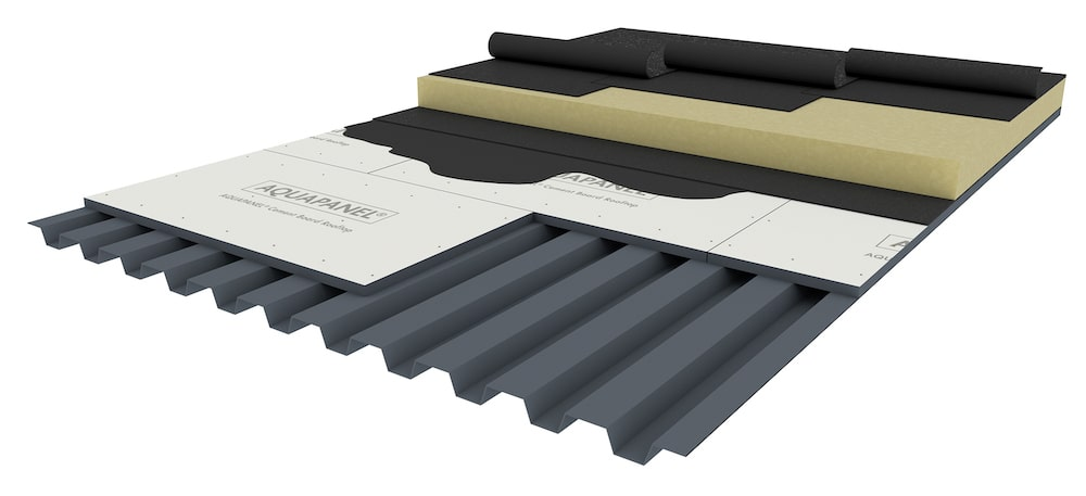 knauf-Aquapanel-Cement-Board-Rooftop