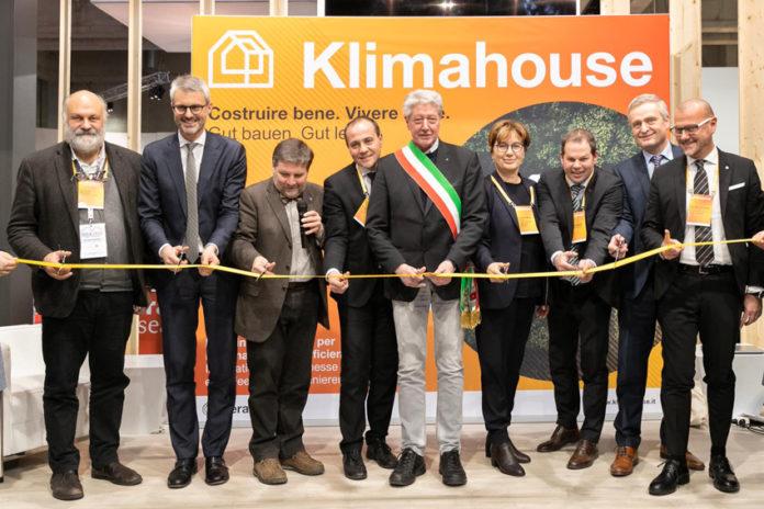 Taglio del nastro di Klimahouse 2020