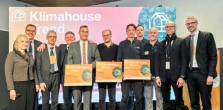 I vincitori del Klimahouse Trend Award 2020. Foto Marco Parisi