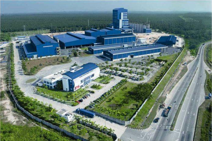 L'impianto di Showa Denko a Banting, Malesia