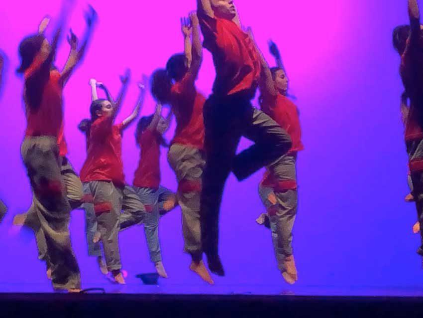 Un momento di Work in Dance