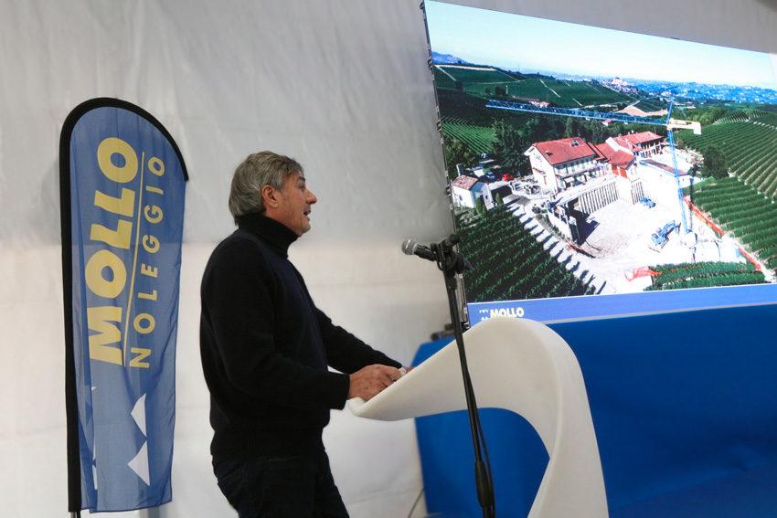 Mauro Mollo, ceo del gruppo, alla convention annuale