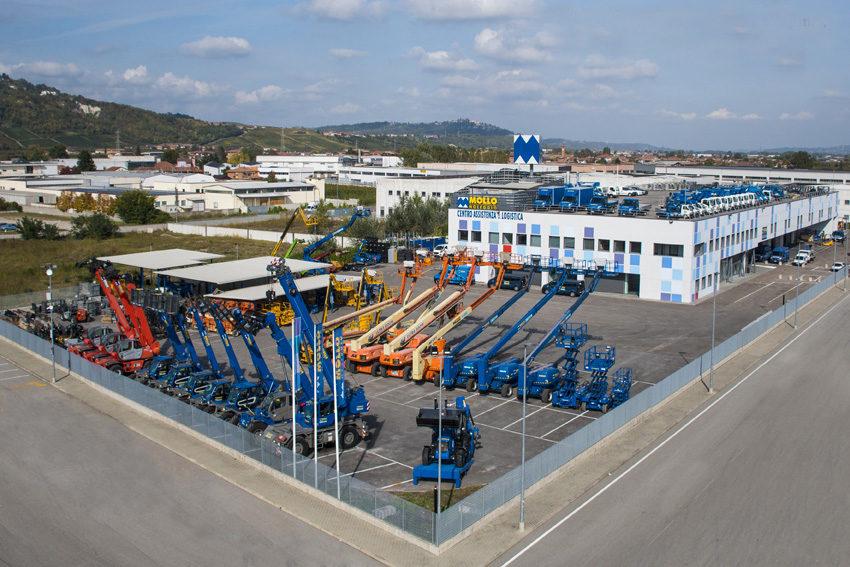 Centro assistenza e logistica di Vaccheria (Cuneo)