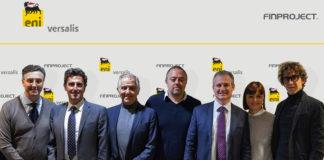 I protagonisti dell'accordo Versalis Finproject