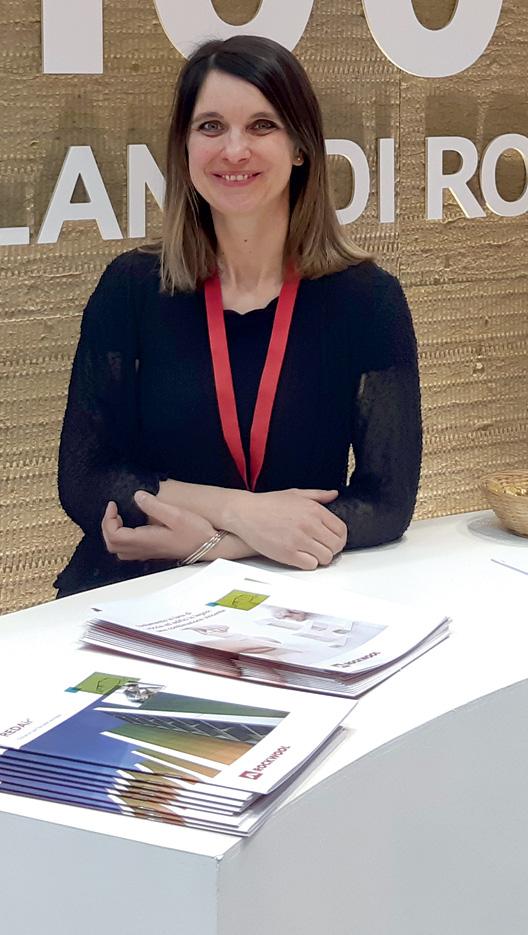 Chiara Piccini, communication managerRockwool