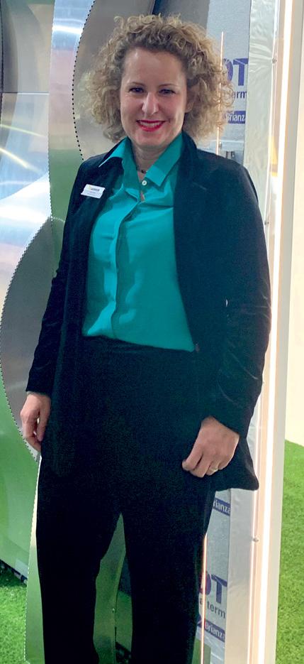 Vera Vaselli,responsabile marketing Brianza Plastica