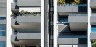 Edificio con elementi prefabbricati