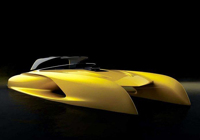 Lo yacht di lusso colore Exp-Yellow di Salomé Yachts