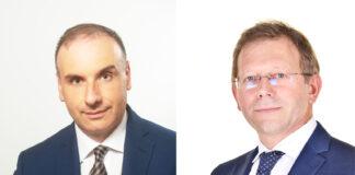 A sinistra, Bruno Palluzzi. A destra, Alberto Franzolin