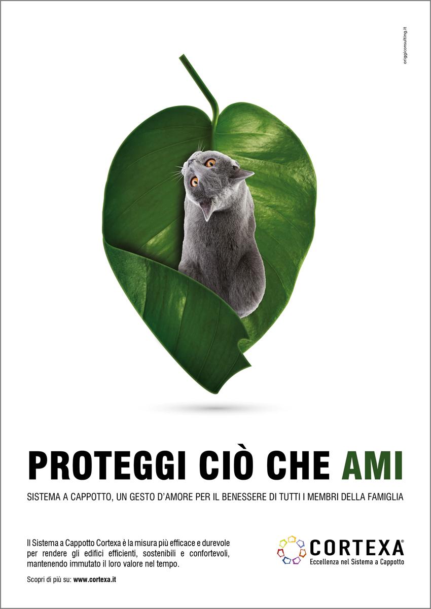 Una delle immagini della campagna «Proteggi ciò che ami»