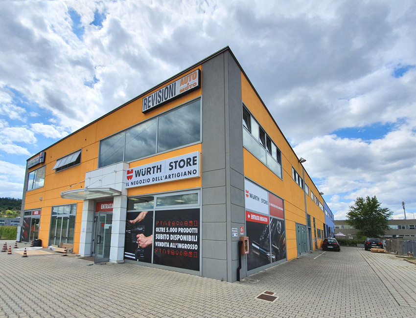 Il Würth Store di Montevarchi