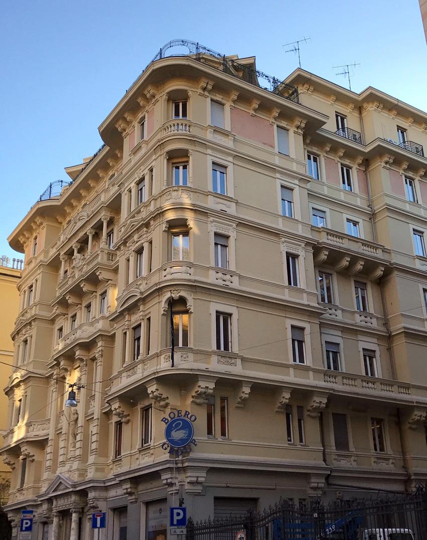 La sede di Boero, a Genova