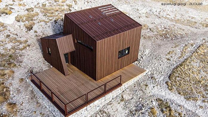 Zilioli60 sul tetto delle Marche di Metal Roof, vincitore del concorso Vinci con Vestis