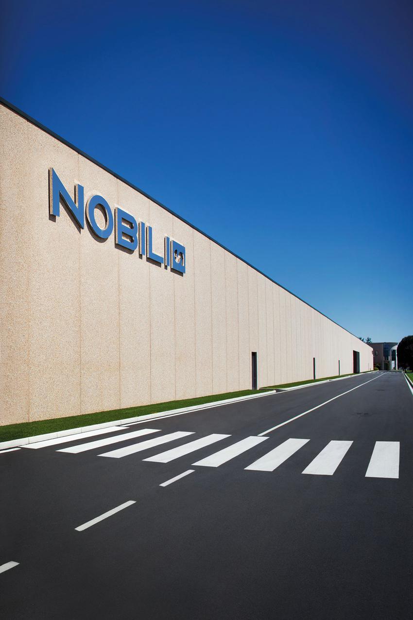 Nobili, la sede dell'azienda