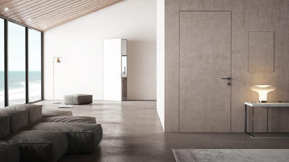 porta-con-telaio-Filum-porta-blindata-Sleek-e-sportello-di-ispezione-Shape